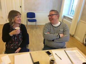 B-G Handledarutbildning VT18 Heidi och Daniel